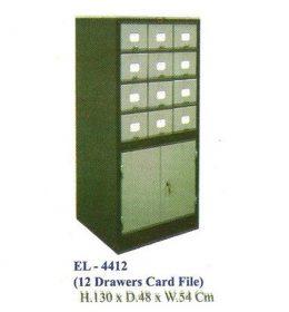 Jual Lemari kantor ELITE EL 4412 (Card File)