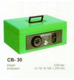 Jual Jual Cash Box Bossini CB-30