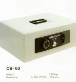Jual Cash Box Bossini CB-60